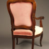 Pair of rosewood chairs A5525D