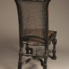 Carved hall chair A5527C