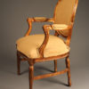 Pair of custom arm chairs A5531B