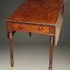 Mahogany drop leaf table A5532B