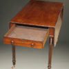 Mahogany drop leaf table A5532C