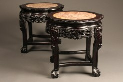 Pair of Chinese tables A5534A