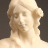 Marble bust of woman A5535D