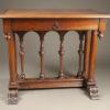 Walnut side table A1903A