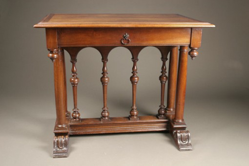 Walnut side table A1903A