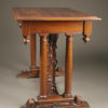 Walnut side table A1903B