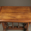 Walnut side table A1903C