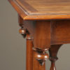 Walnut side table A1903E
