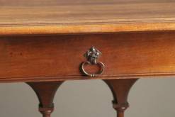 Walnut side table A1903F