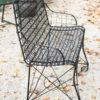 Wire garden bench A5560B