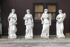 Set of marble statues A5562A