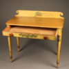 Pine table/desk with painted finish A5563B