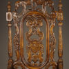 Pair of carved arm chairs A5564F