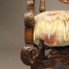 Pair of carved arm chairs A5564G