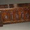 English Jacobean style coffer front