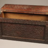 Carved folk art box or coffer A5573B