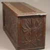 Carved folk art box or coffer A5573C