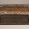 Carved folk art box or coffer A5573E