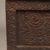 Carved folk art box or coffer A5573F