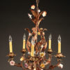 Italian 5 arm iron chandelier A5576A