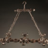 Pair of 6 arm iron chandelier A5579B