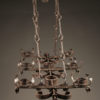 Pair of 6 arm iron chandelier A5579C
