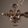 Pair of 6 arm iron chandelier A5579F