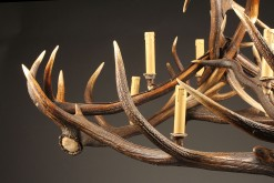 Chandelier made from stag antlers A5580B