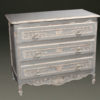 French 3 drawer commode A5582A