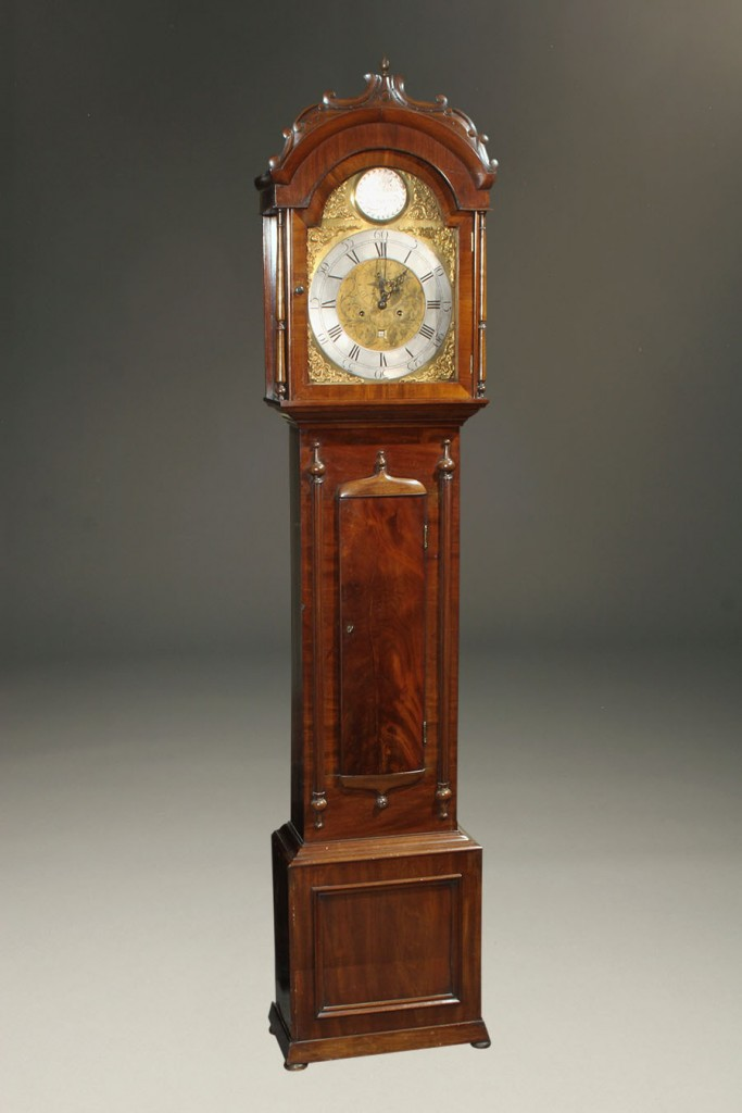 Scottish tall case clock A5588A