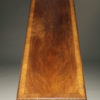 Walnut library or refractory table A5595C