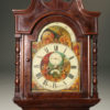 A2108C-antique-clock-grandfather-tall-mahogany