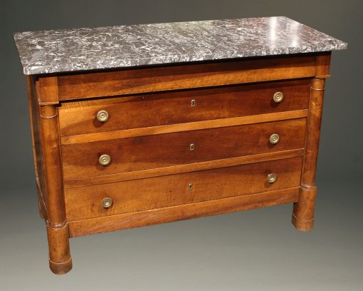 A5607A-french-empire-commode-chest of drawers-antique