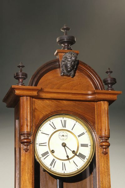 "Late 19th century Ansonia ""Capitol"" wall clock"