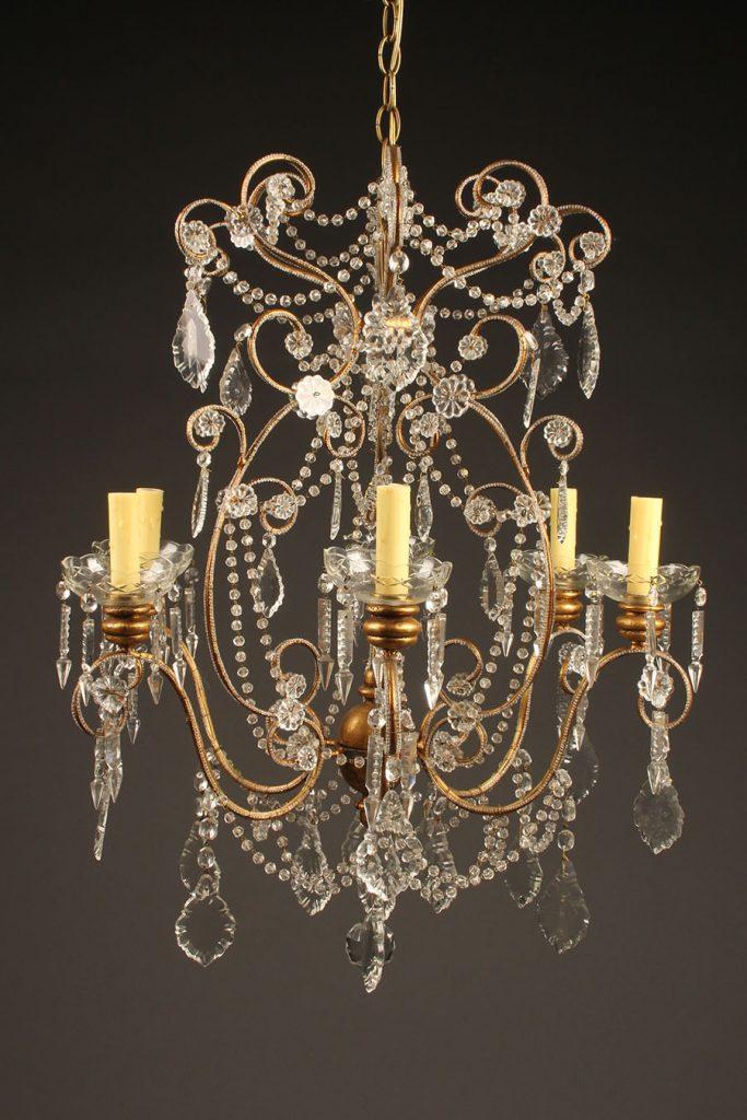 A5616A-antique-chandelier-italian