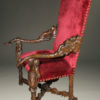 A5640B-antique-carved-chair-arm-venetian