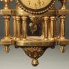 A5648D-louis XVI-clock-wall-gilded