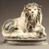 English porcelain lion.