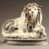 English porcelain lion.