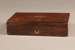 Very nice set of draftsman tools in a rosewood box.