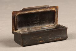 Beautiful Rectangular tortoise shell snuff box.
