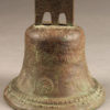 Early 19th century bronze bell dated 1818.