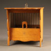 French finch cage constructed in oak, circa 1950's