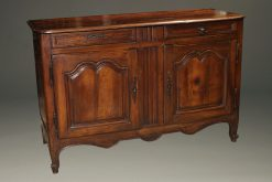 Late 18th century French Louis XV country style built in fruit wood