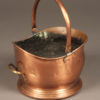 Mid 19th century copper English coal bucket
