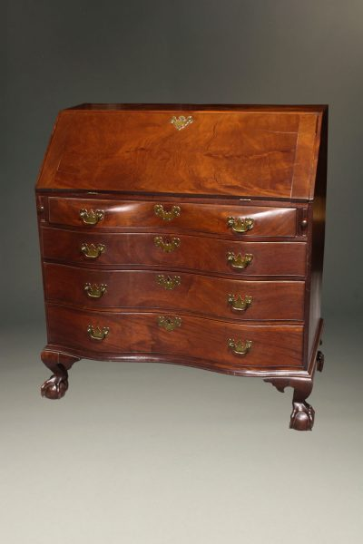 Early 19th century English Chippendale period secretary