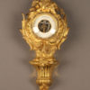 !9th century French gilded bronze barometer in Napoleon III style