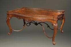 Very nice French style mahogany coffee table