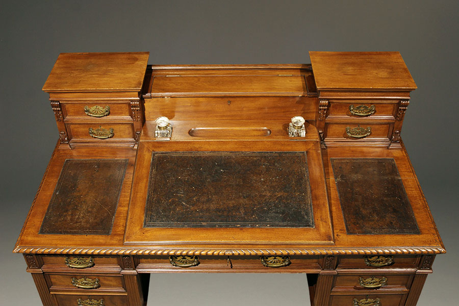 A1679D-architect-desk-antique-english - Antique English Architect's Desk.