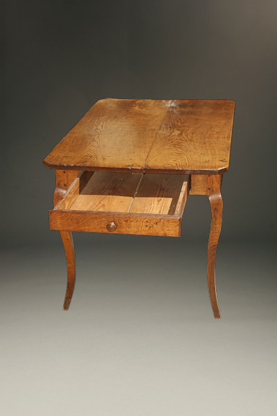 18th century french rustique louis xv oak work table. Black Bedroom Furniture Sets. Home Design Ideas